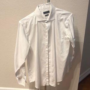 Calvin Klein Slim Fit 16 White Dress Shirt